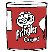 Illustration: can of pringles